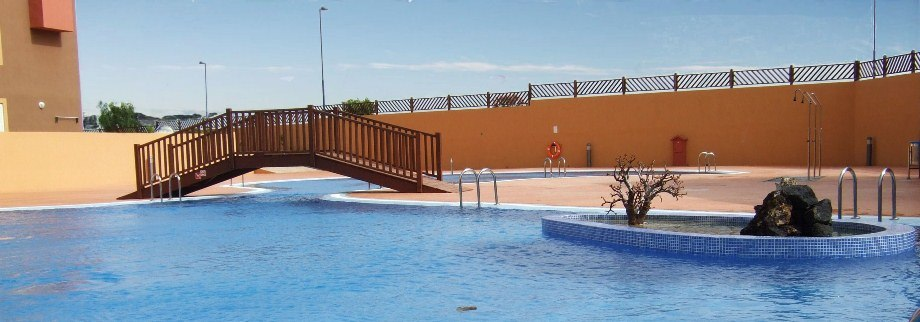 Communal Pool at our Villa Rental - Fuerteventura