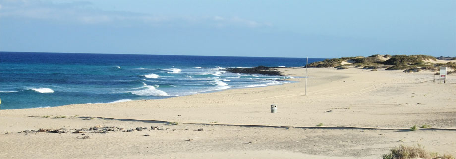 Corralejo, Fuerteventura - The area our rental villa is located